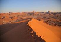 Sand Dunes - Sossusvlei — Fotografia de Stock