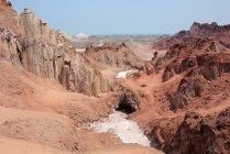 Désert de sel, île de matar — Photo de stock