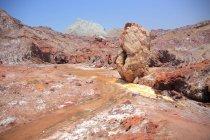 Солт пустыни, Ормузский остров — стоковое фото