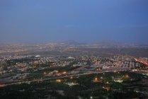 Vista aérea da cidade Esfahan, no Irã — Fotografia de Stock