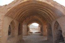 Yazd Dakhmeh-ye Zartoshtiyun (templos zoroastristas e torres de silêncio ) — Fotografia de Stock