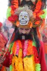Foule au festival de Kumbh Mela, religieux plus grand au monde, rassemblant, à Allahabad, Uttar Pradesh, Inde — Photo de stock