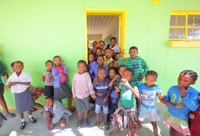 School in Grashoek village — Stock Photo