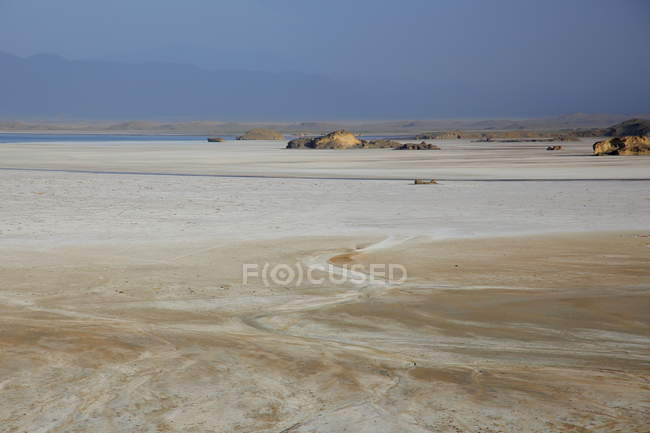 Sand dunes in  Mozambique — Stock Photo