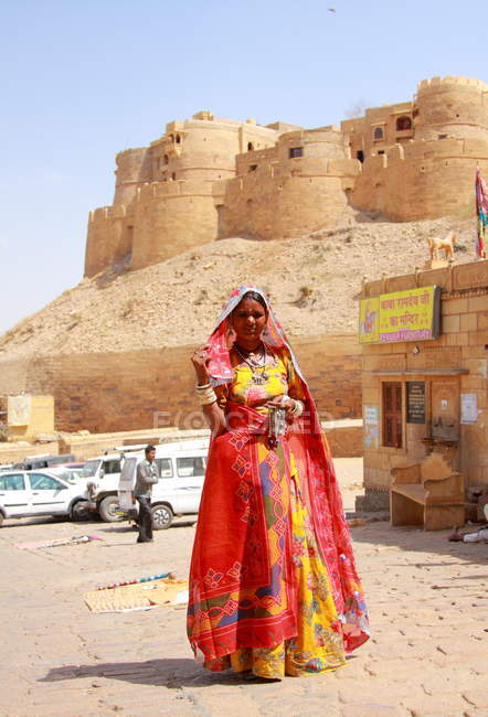 Linda mulher indiana — Fotografia de Stock
