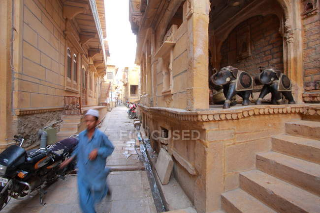 Altstadtpalast im Jaisalmer Fort — Stockfoto