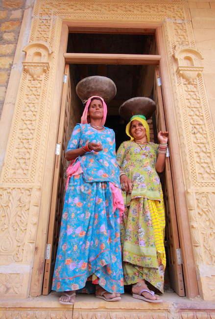 Lindas mulheres indianas — Fotografia de Stock