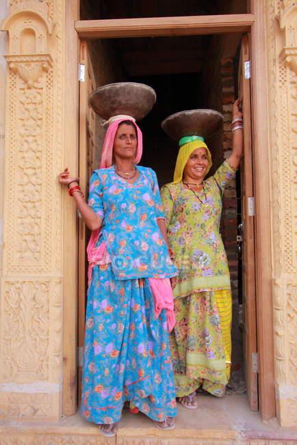 Belle donne indiane — Foto stock
