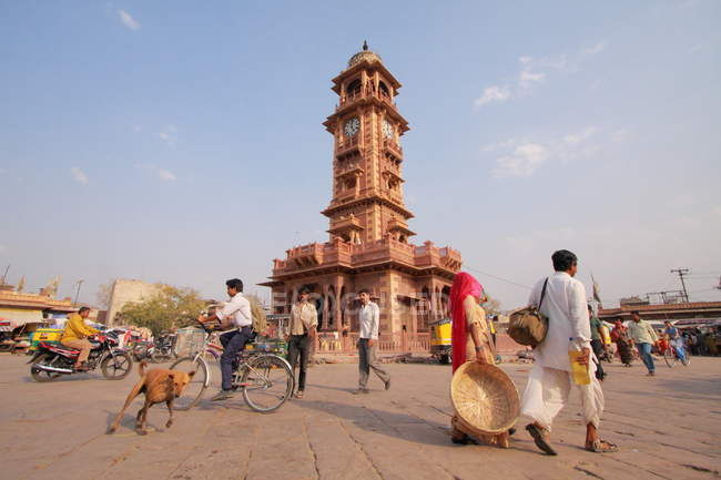 Uhrturm in jodhpur — Stockfoto