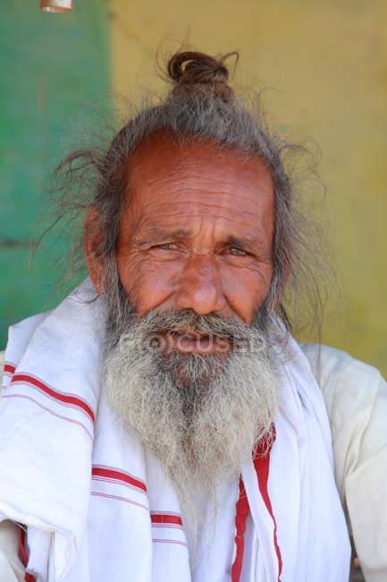 Uomo anziano indiano — Foto stock