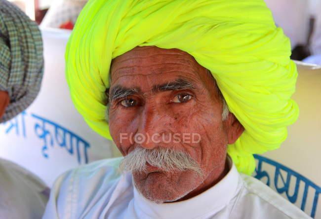 Homem indiano sênior — Fotografia de Stock