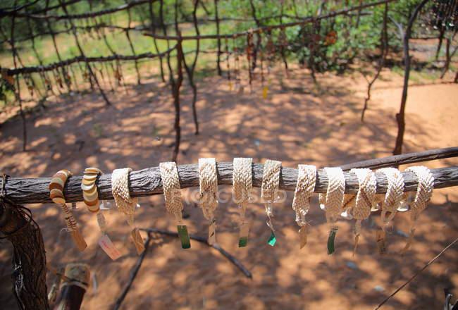 Handmade bracelets in  Grashoek — Stock Photo