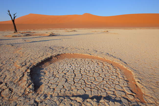 Sand Dunes - Sossusvlei — Stock Photo