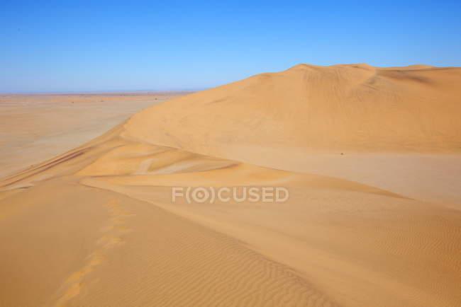 Sand Dunes near Walvis Bay — Stock Photo