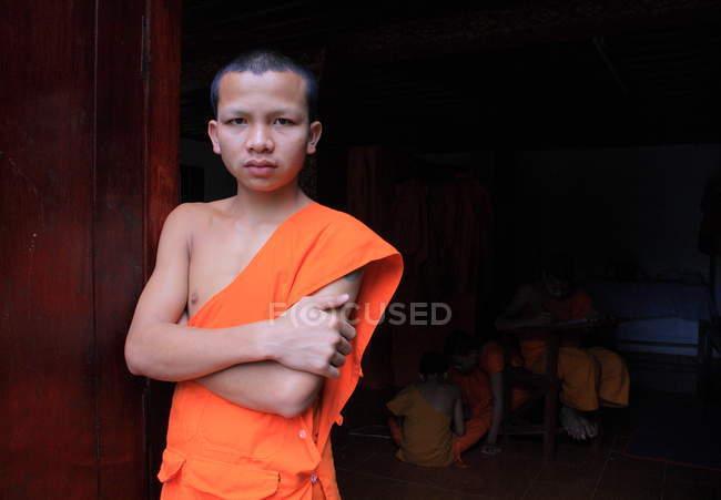 Buddhist in Luang Prabang — Stock Photo