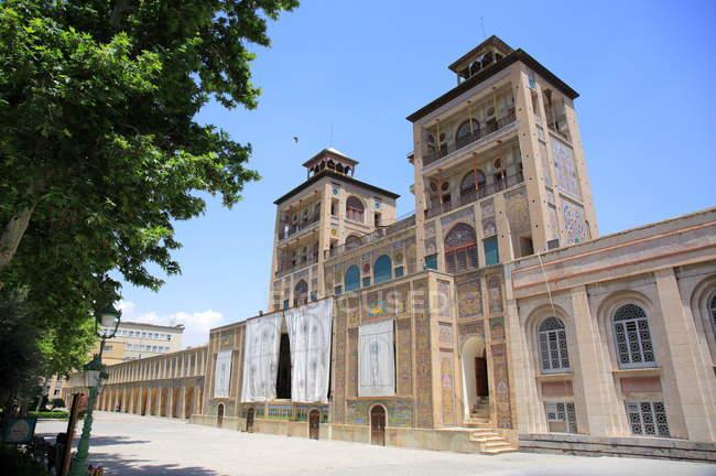 Shams-ol-Emareh nel palazzo del Golestan-Il più antico dei monumenti storici a Teheran, Iran — Foto stock