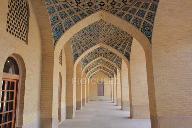 Nasir al-mulk mesquita, shiraz, Irã — Fotografia de Stock