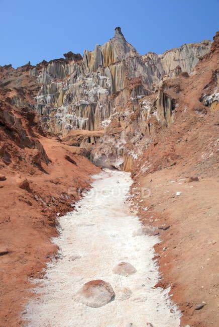 Deserto di sale, Hormoz Island — Foto stock
