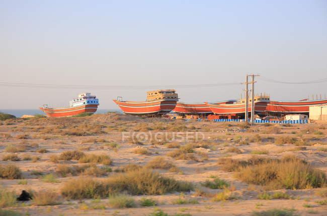 Province de Hormozgan, l'île de Qeshm, paysages de l'île de Qeshm — Photo de stock