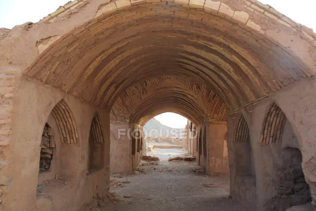 Yazd Dakhmeh-ye Zartoshtiyun (Zoroastrian temples and Towers of Silence) — Stock Photo