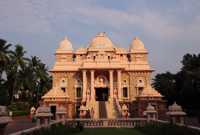 Sri Ramakrishna Math historical building in Chennai, Tamil Nadu, India — Stock Photo