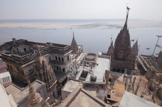 Old Historical Varanasi città, Uttar Pradesh, India — Foto stock