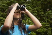 Бинокль наблюдения за птицами . — стоковое фото