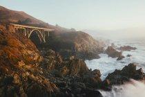 Pacific Ocean coastline — Stock Photo