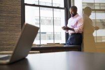 Афро-американських бізнесмен — стокове фото
