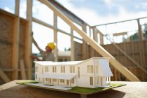 Domestic house being built — Stock Photo
