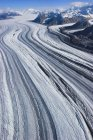 Glacier in the Wrangell mountains — Stock Photo