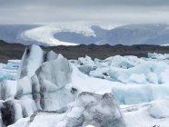 Glacial lake in Vatnajokull National Park. — Stock Photo
