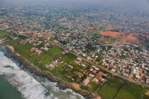 Coastal development on outskirts of Accra — Stock Photo