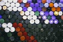 Barili di petrolio colorato — Foto stock