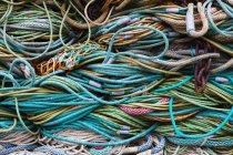 Reti di pesca professionale — Foto stock