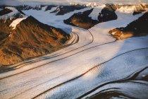 Logan Glacier, Alaska — Stock Photo