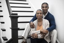 Mature african american couple — Stock Photo