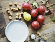 Domestic kitchen tabletop — Stock Photo