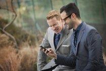 Uomini in abiti d'affari formale — Foto stock