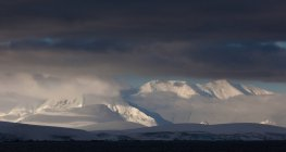 Antarctica. Snow covered peaks — Stock Photo