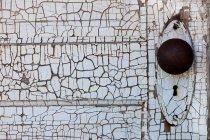 Detail of an old door — Stock Photo
