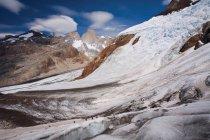 Climbers on glacier in Los Glaciares — Stock Photo