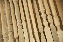 Wandte sich Holzmöbel Beine — Stockfoto