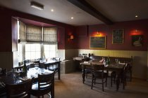 Village public house interior — Stock Photo