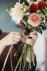 Bio Blumenarrangements. — Stockfoto