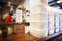 The ramen noodle shop. — Stock Photo
