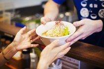 Ramen noodle shop. — Stock Photo
