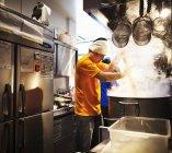 Ramen noodle shop — Stock Photo