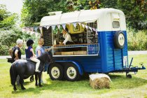 Mobile Kaffeestube. — Stockfoto