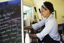 Мобильная кофейня — стоковое фото